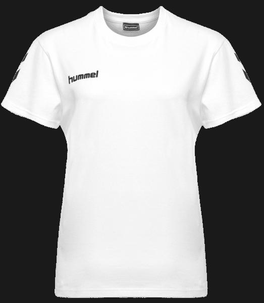 Hummel Go Cotton T-Shirt Woman S/S - Bílá - Napřed