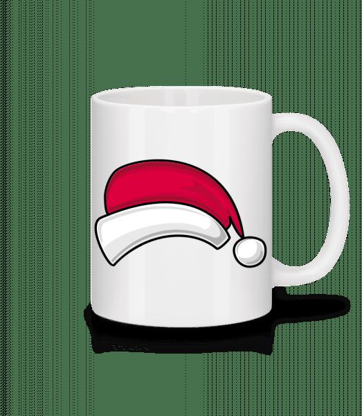 Santa Hat - Mug - White - Vorn
