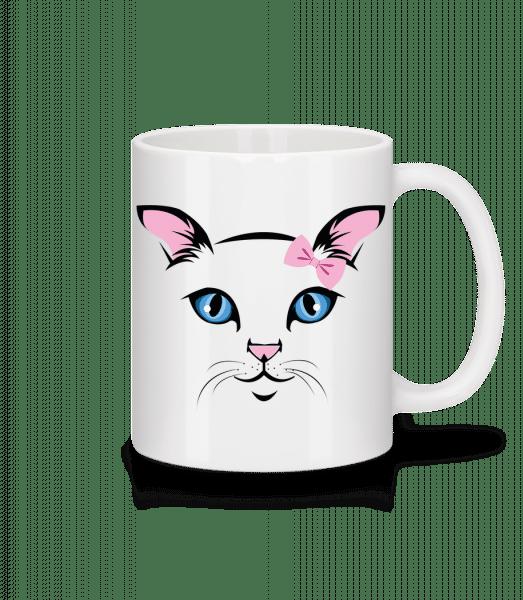 Cute Cat Kids - Mug - White - Front