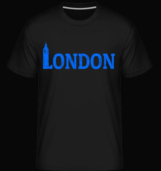 London UK -  Shirtinator Men's T-Shirt - Black - Vorn