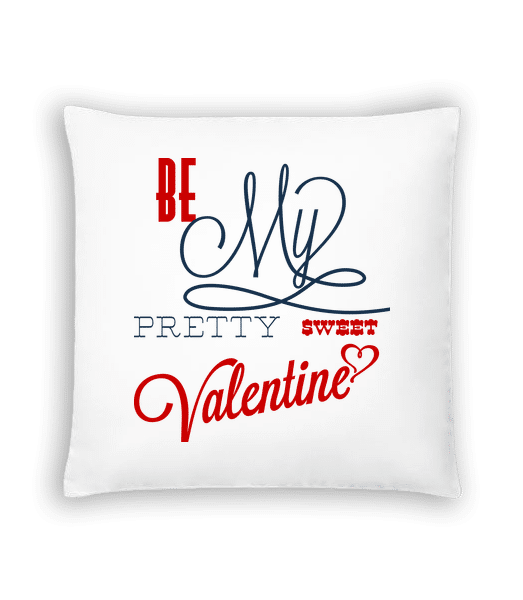 Be My Valentine - Cushion - White - Vorn