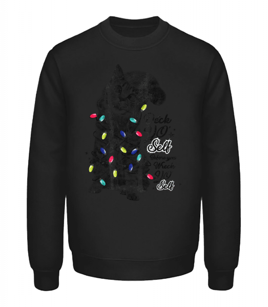 Cat Christmas - Unisex Sweatshirt - Black - Vorn
