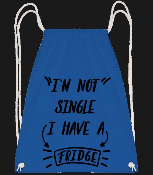 I Have A Fridge - Drawstring Backpack - Royal blue - Vorn