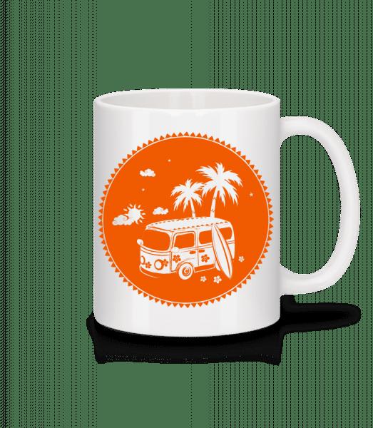 Holiday Icon Orange - Mug - White - Vorn