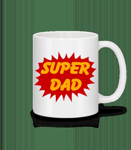 Super Dad - Tasse - Weiß - Vorn