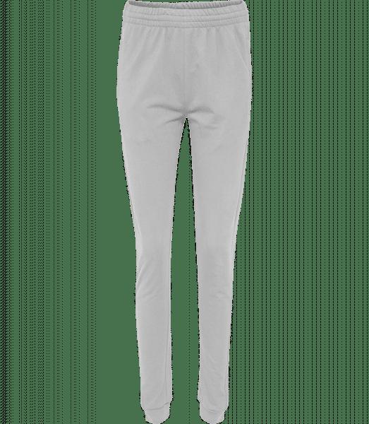 Frauen Hummel Jogginghose - Grau meliert - Vorn