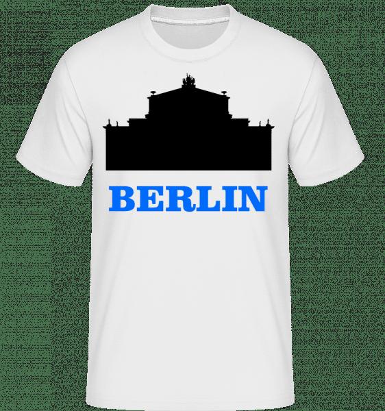 Berlin Skyline -  T-Shirt Shirtinator homme - Blanc - Devant