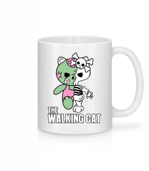 The Walking Cat - Mug - White - Front
