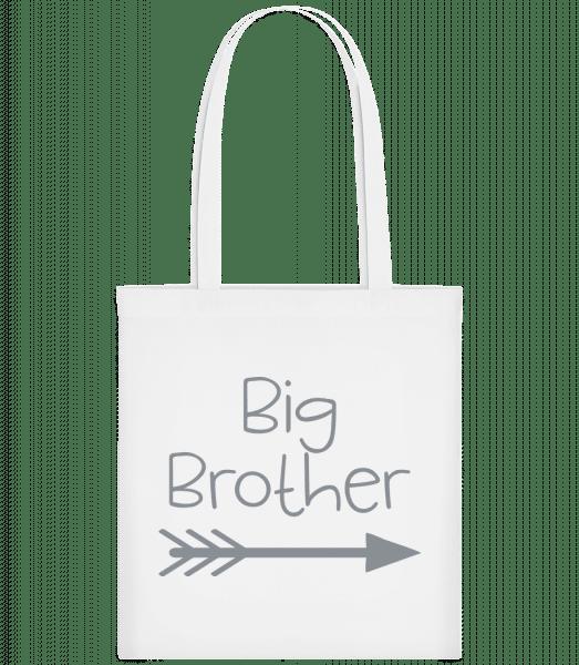 Big Brother - Carrier Bag - White - Vorn