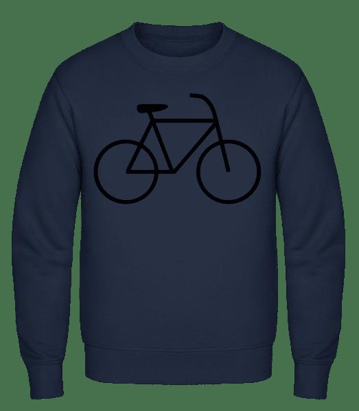 Bicycle - Classic Set-In Sweatshirt - Navy - Vorn