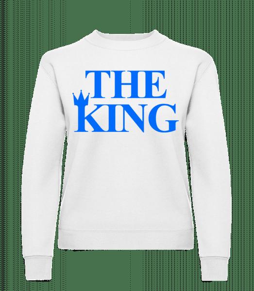 The King Blue - Women's Sweatshirt - White - Vorn
