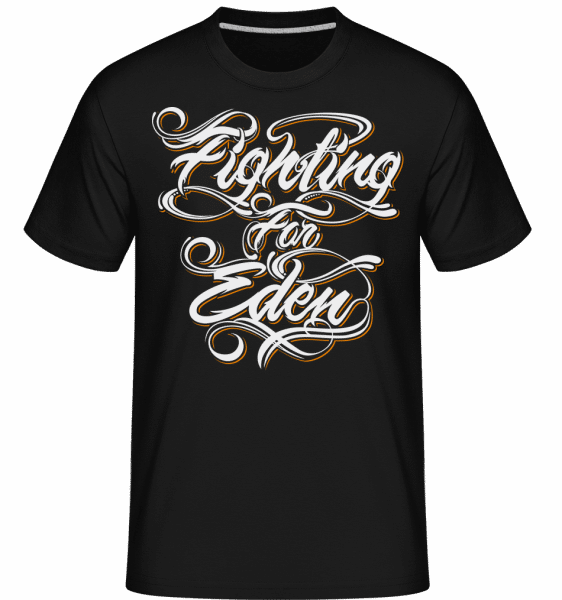 Fighting For Eden -  Shirtinator Men's T-Shirt - Black - Front