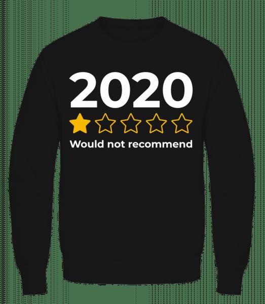 2020 Would Not Recommend - Men's Sweatshirt AWDis - Black - Vorn
