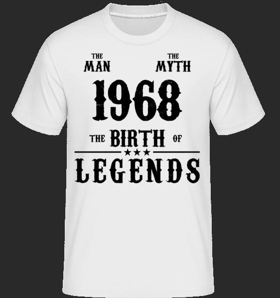 The Myth 1968 -  Shirtinator Men's T-Shirt - White - Vorn