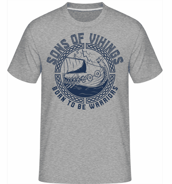Sons Of Vikings -  Shirtinator Men's T-Shirt - Heather grey - Vorn