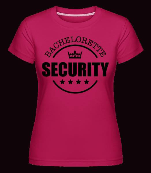 Bachelorette Security -  Shirtinator Women's T-Shirt - Magenta - Vorn