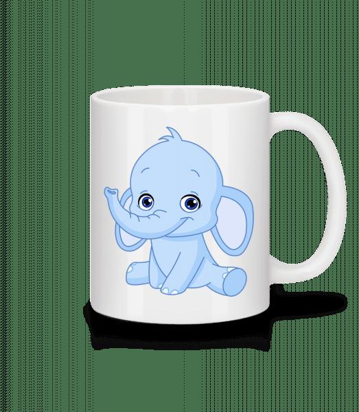 Elephant Comic - Mug - White - Vorn