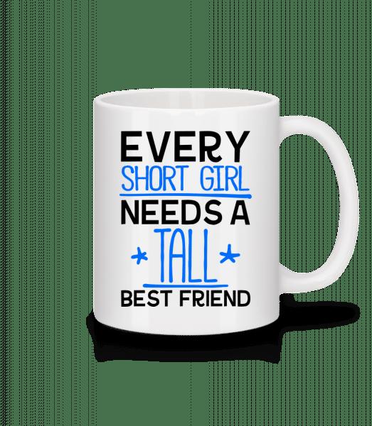 A Tall Best Friend - Mug - White - Vorn