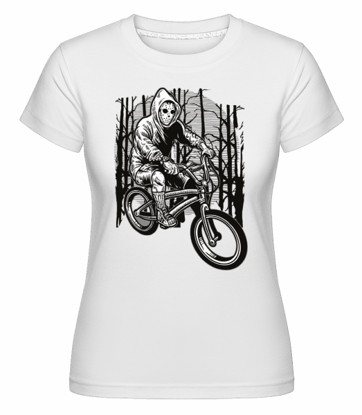 Ride Bike To Kill -  Shirtinator Women's T-Shirt - White - Vorn