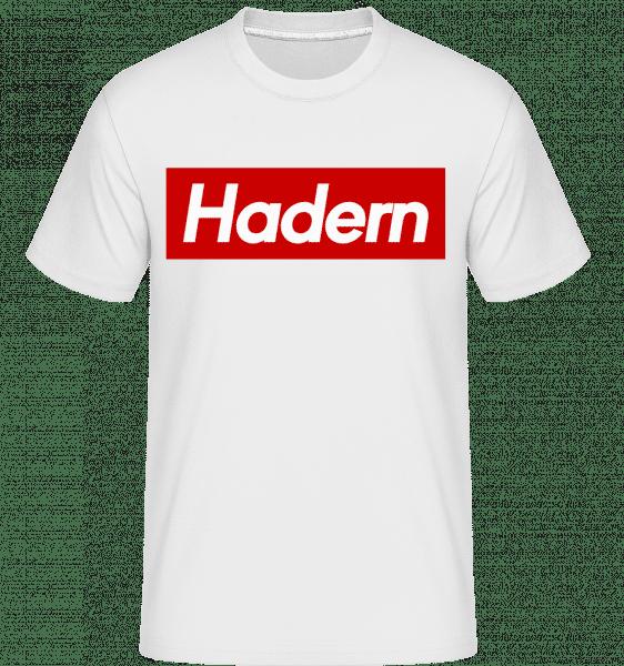 Hadern - Shirtinator Männer T-Shirt - Weiß - Vorn