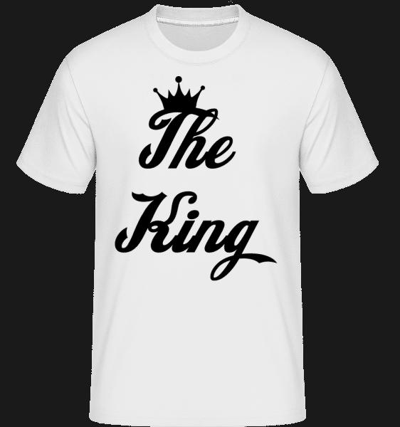 The King - Shirtinator Männer T-Shirt - Weiß - Vorn