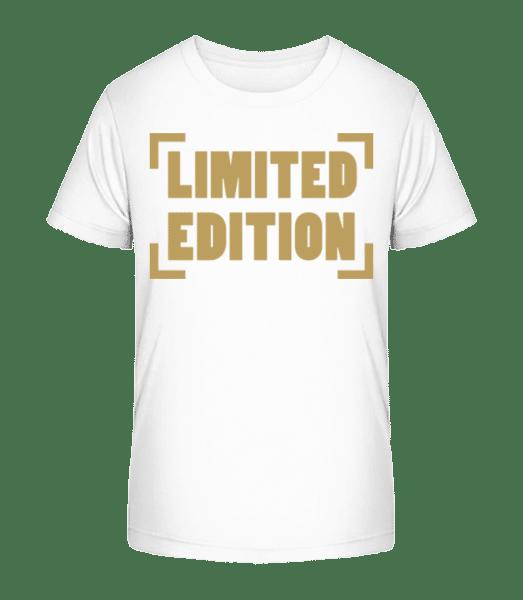 Limited Edition - Kid's Premium Bio T-Shirt - White - Vorn