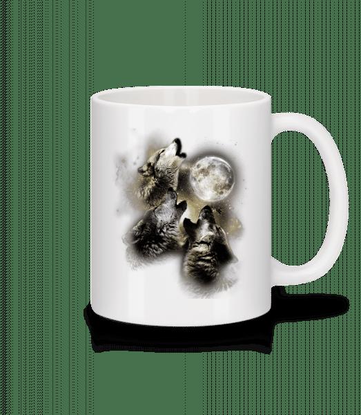 Wolf Moon - Mug - White - Vorn