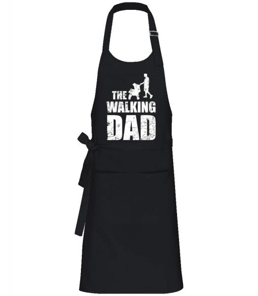 The Walking Dad - Profi Kochschürze - Schwarz - Vorne