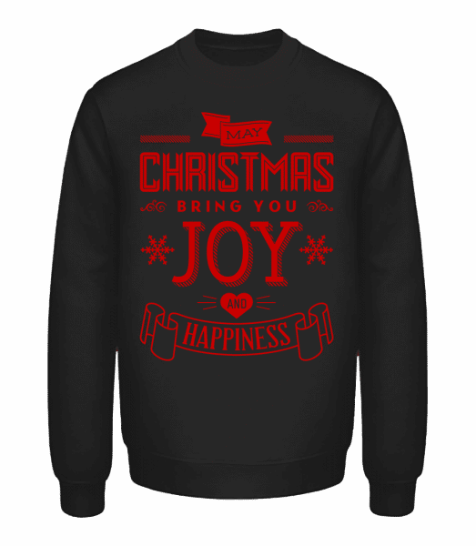May Christmas Bring You Joy And  - Unisex Sweatshirt - Black - Vorn