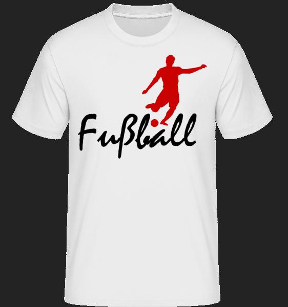 Fußball - Shirtinator Männer T-Shirt - Weiß - Vorn