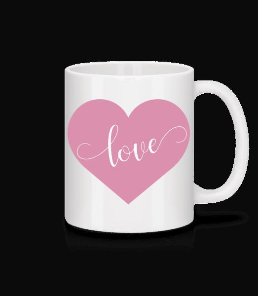 Love - Mug - White - Vorn