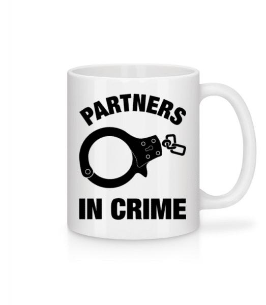 Partner in crime - Mug - White - Front