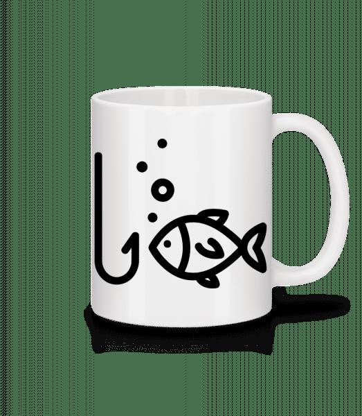 Fishing Comic - Mug - White - Front