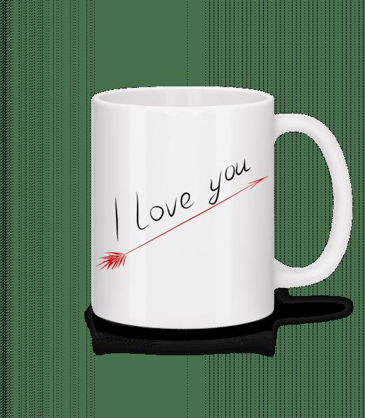 I Love You - Mug - White - Front