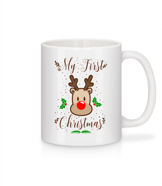 My First Christmas - Mug - White - Front