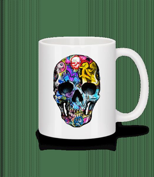 Graffiti Dead - Mug - White - Vorn