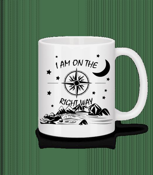 I Am On The Right Way - Mug - White - Vorn