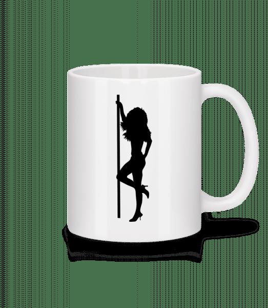 Stripper Girl Pole - Tasse - Weiß - Vorn