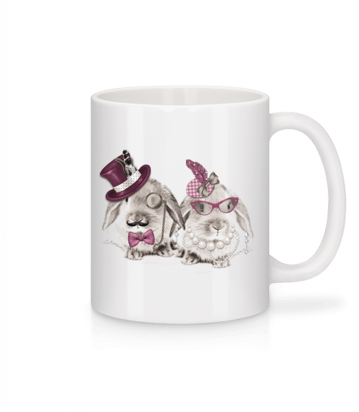 Mr And Mrs Rabbit - Mug - White - Vorn