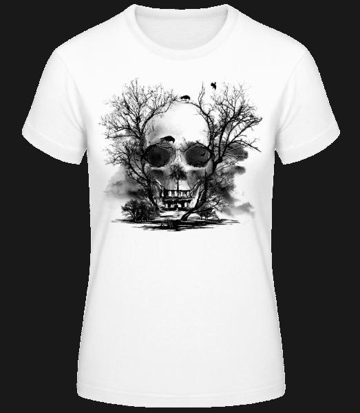 Death Trees - Women's Basic T-Shirt - White - Vorn