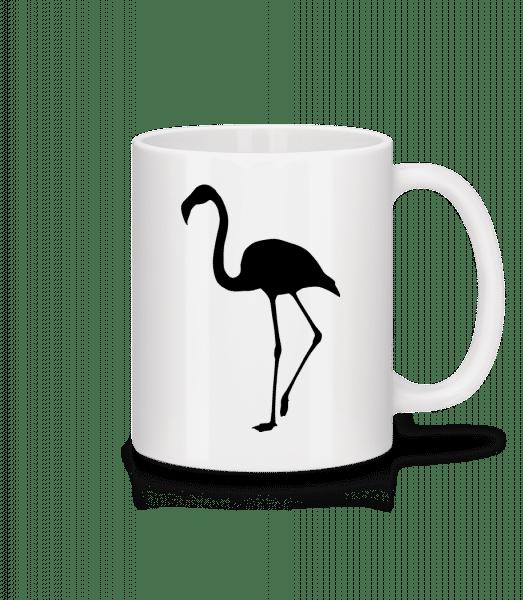 Flamingo Shadow - Mug - White - Front