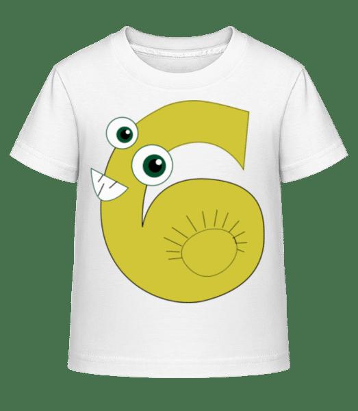Six Snails - Kid's Shirtinator T-Shirt - White - Front