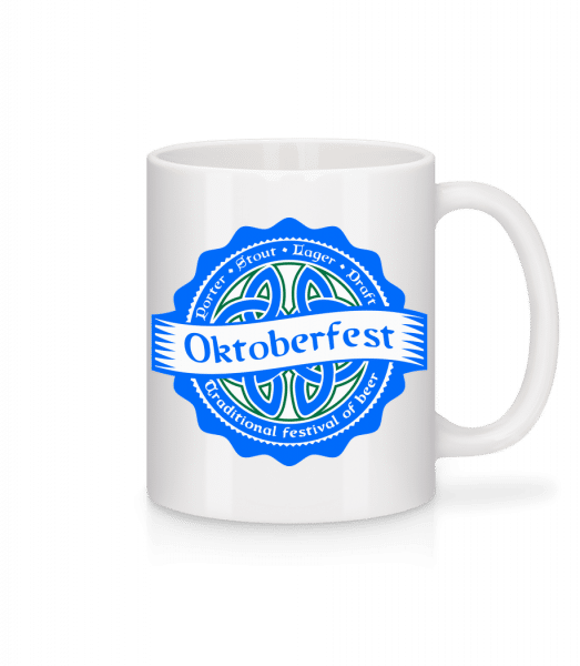 Traditional Festival Of Beer - Mug - White - Vorn