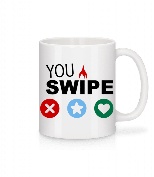 Your Choice - Mug - White - Vorn