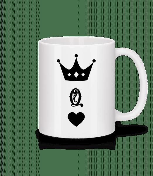 Queen Crown - Mug - White - Vorn