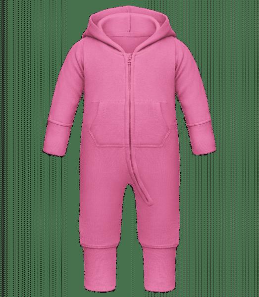 Detské body all-in-one - Fuchsia - Predné