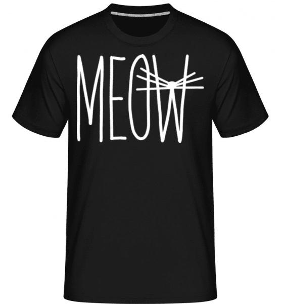 Meow 3 -  Shirtinator Men's T-Shirt - Black - Front