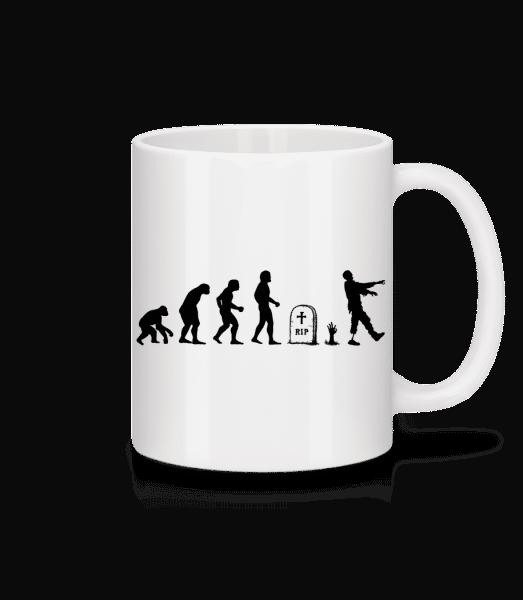 Halloween Evolution - Mug - White - Vorn