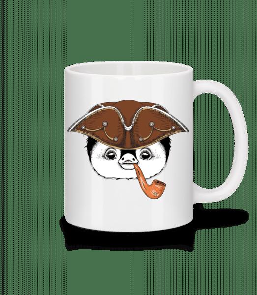 Matrosen Pinguin - Tasse - Weiß - Vorn
