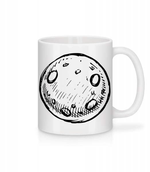 Moon - Mug - White - Vorn
